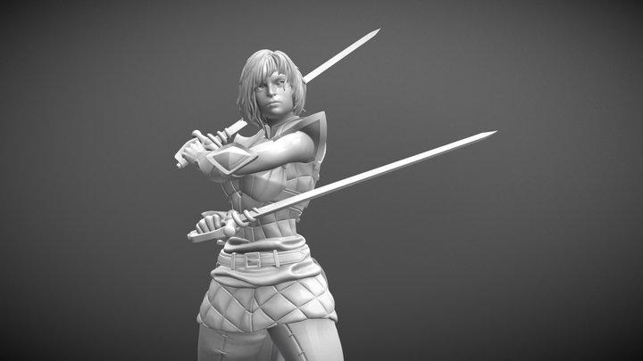 Dark Duelist 3D Model