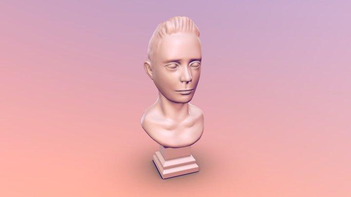 Feb 14, 2019 - Face Sketch 3D Model