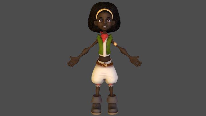 Terri 3D Model