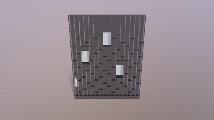 Boca Wine Cabinet 3D Model