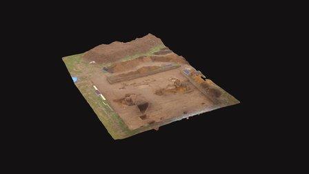 Aylsham Roman Project Site - Woodgate Nursery 3D Model