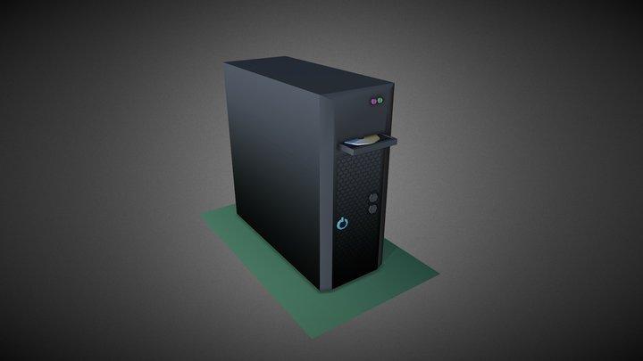 Computer #HouseholdPropsChallenge 3D Model
