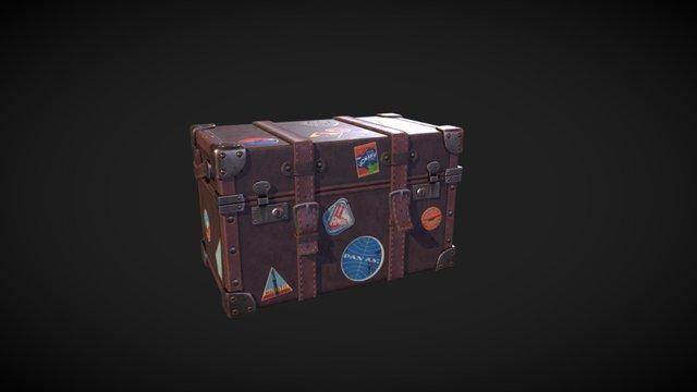 Vintage Luggage 3D Model
