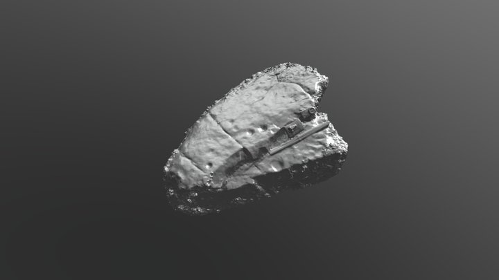 Marlbank Gt035 Rock Art 3D Model