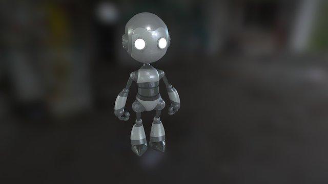 Bobart - Robot Model 3D Model