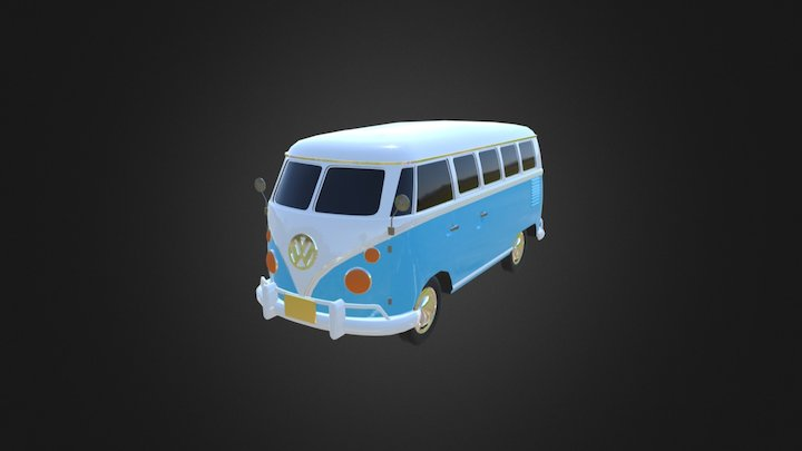 Volkswagen Type 1 3D Model