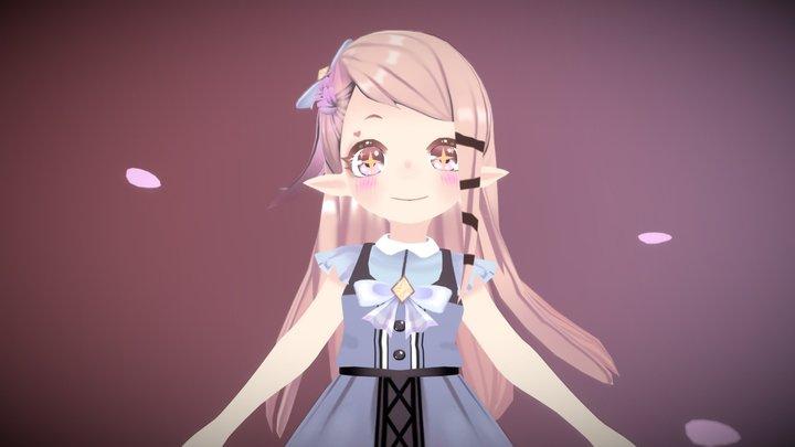 Arabella - Original Character 3D Model
