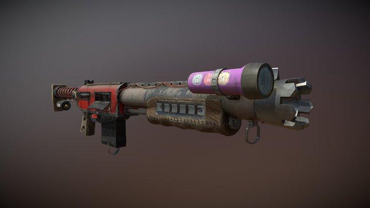 Junker Shotgun 3D Model
