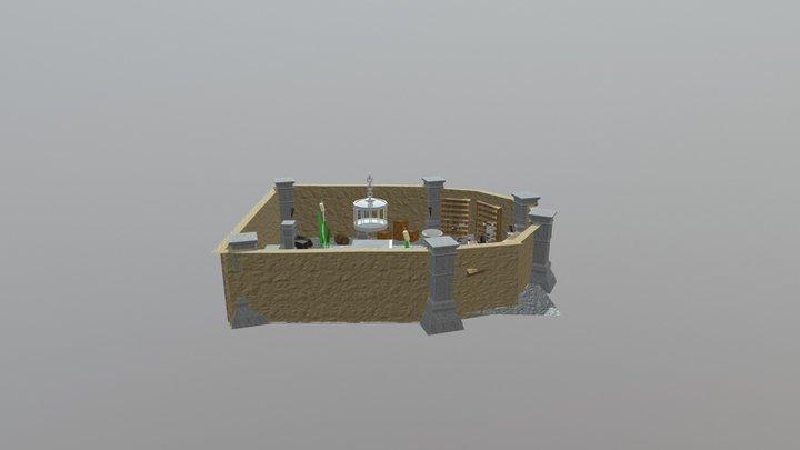 Wizard Scene 3D Model