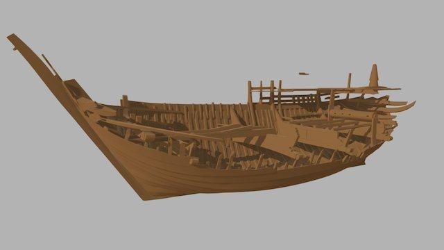 Bremen Cog 1380 Recovered Elements 3D Model