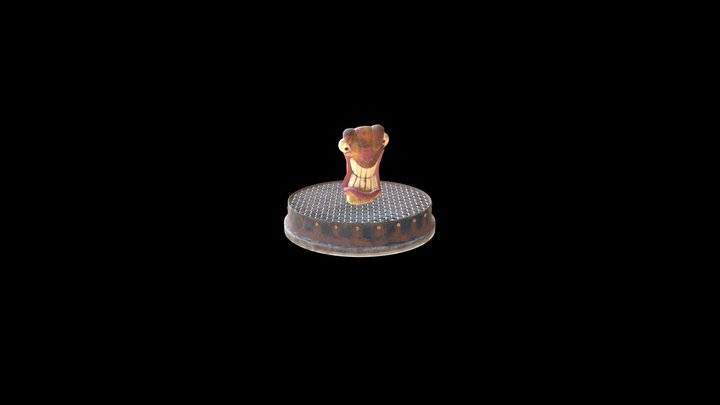 Worm Multiple Materials 3D Model