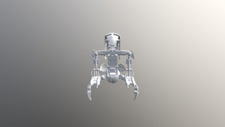 SWBF2 Droidekajghggh 3D Model