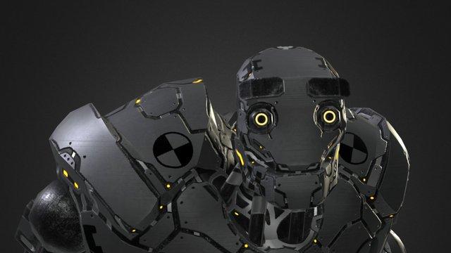 Crash_Test_Robot_Dummy_Heavy robot 3D Model