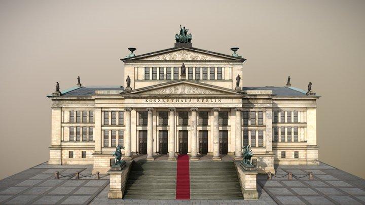 Konzerthaus Berlin [VR ready] 3D Model