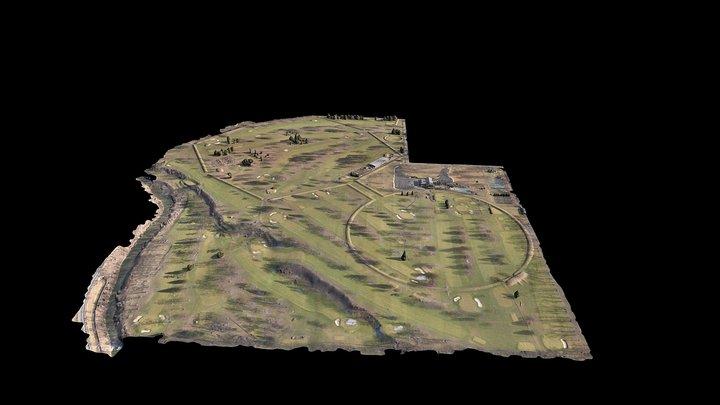 Newark Octagon and Observation Circle (mobile) 3D Model