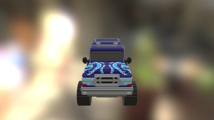 Monster Truck 03 3D Model
