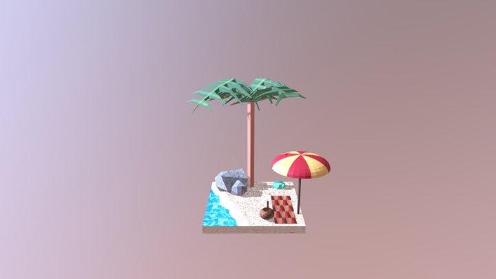 Beach - wip5 3D Model