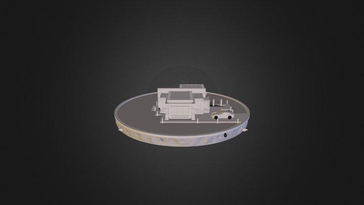 A004-Clay 3D Model