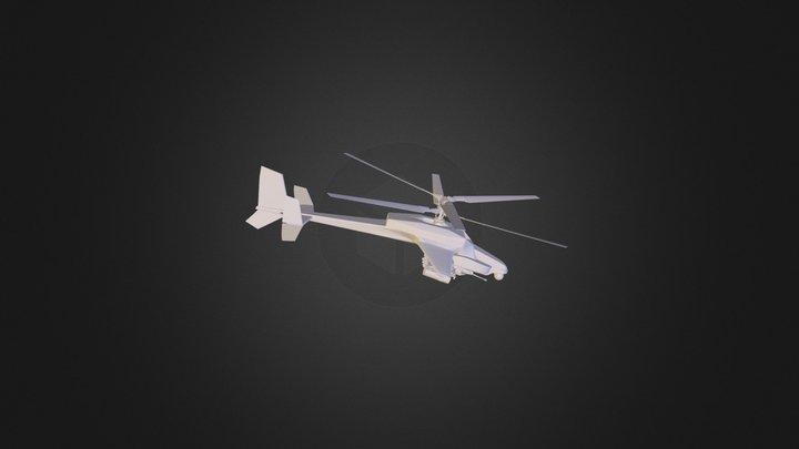 Helicopter - CMS 3D Model