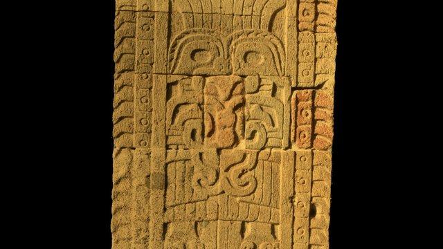 Columna Quetzalpapalotl V1 3D Model