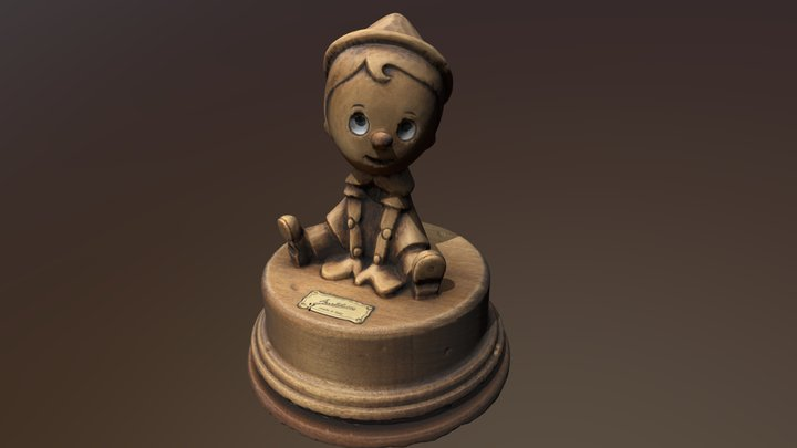 Pinoccio 3D Model