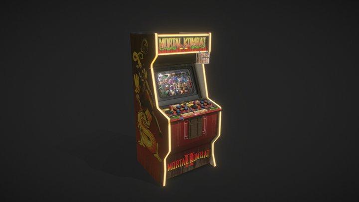 Arcade Machine | Automaping 3D Model