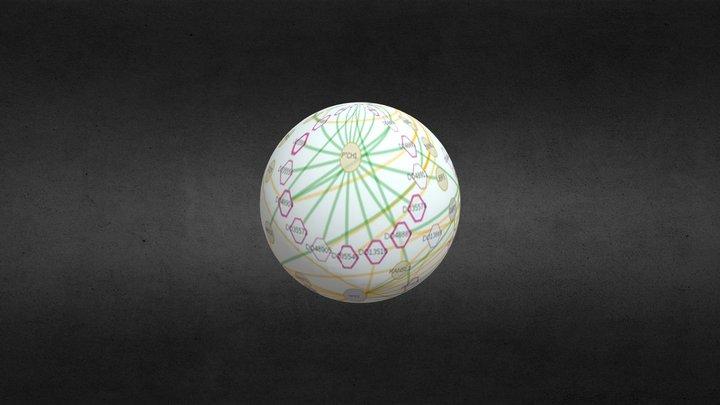 What Makes Us Human: Art & Genomics Convergence 3D Model