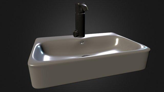 Sink, own design 3D Model