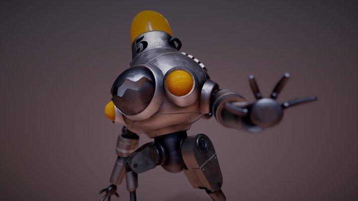 Chompbot #5 3D Model