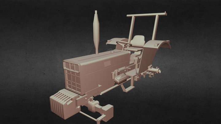 International Harvester 33 series 3D Model