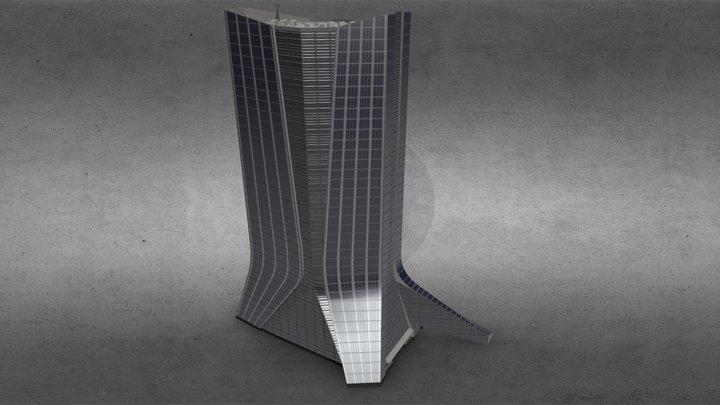 CMA CGM Building - Marseille / France 3D Model