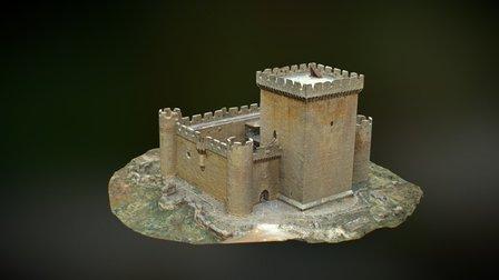 Castle Villalonso (Zamora, Spain) 3D Model