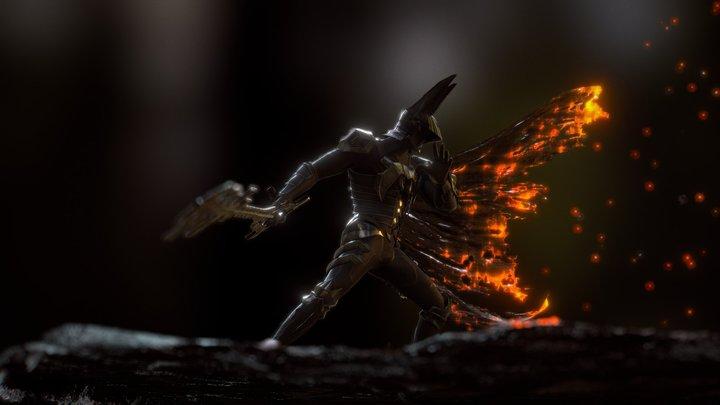 Kingdom Hearts - Terra 3D Model