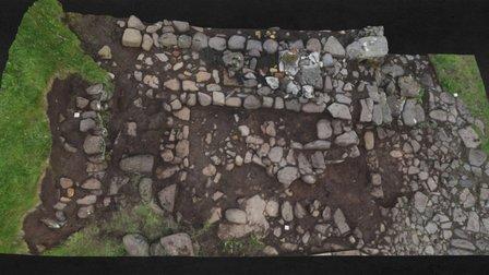 Bergstokk, Norðri í Gerði, Koltur 3D Model