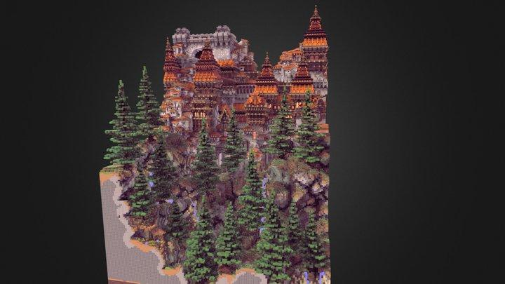Dewmire Castle (2017) 3D Model