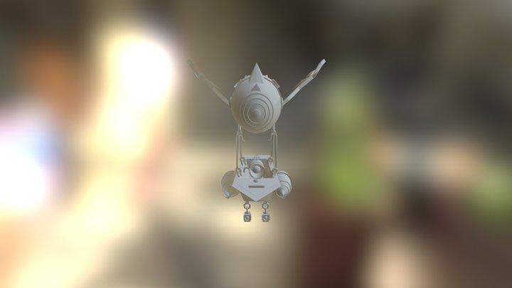 Goblin Airship 3D Model