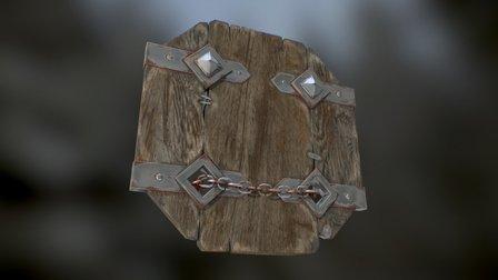 Journeyman's shield 3D Model