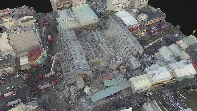 VR-Collapsed Weiguan Building(2016/2/6) 3D Model