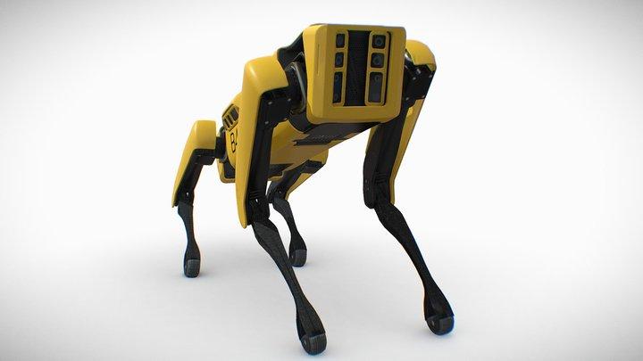 Spot Mini (Rigged) 3D Model