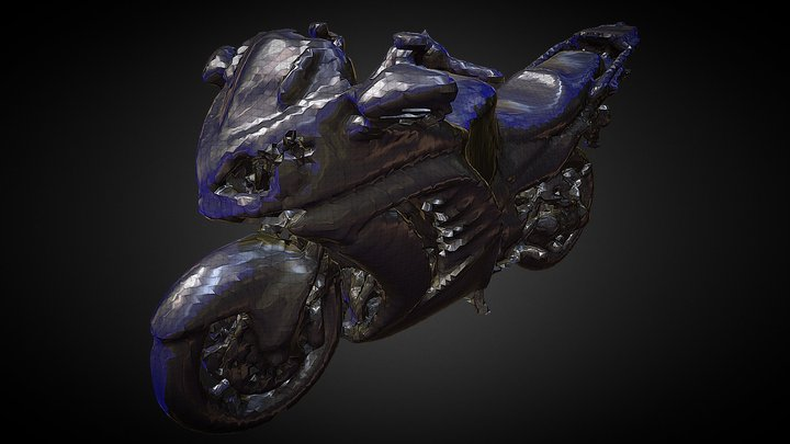 Kawasaki Concours14 3d Scan 3D Model