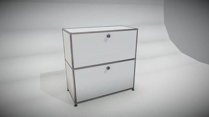 test cabinet 3D Model