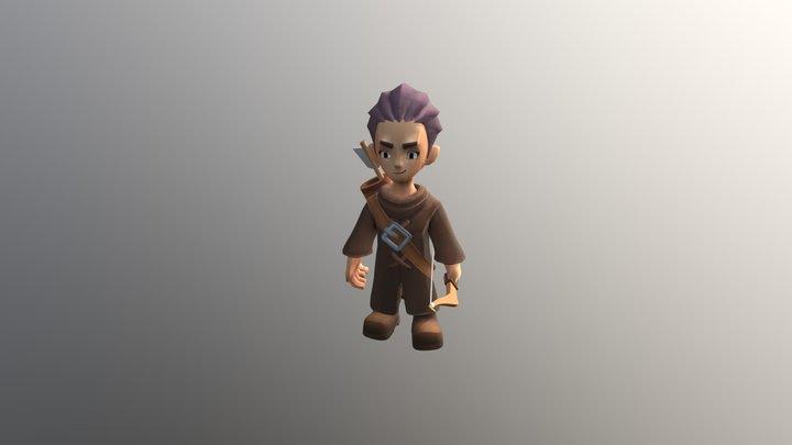 Dying2 3D Model