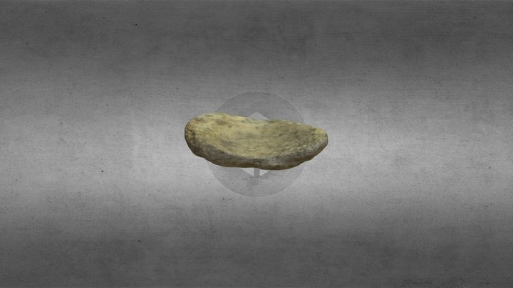 Saddle Quern - Rothe House 3D Model