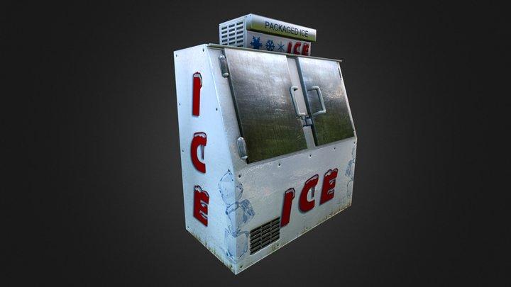 Ice Freezer 3D Model