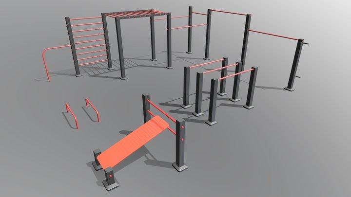 ST WO 21 3D Model