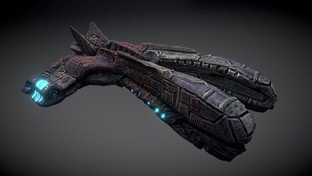 E_Ship_A 3D Model