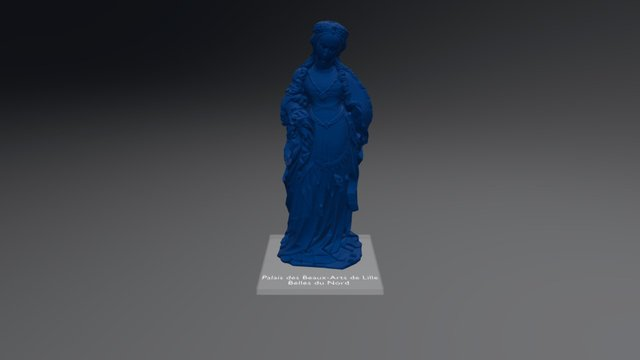 Statuette Belle Du Nord 3D Model