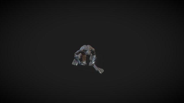 Ghoul from Skullstone 3D Model