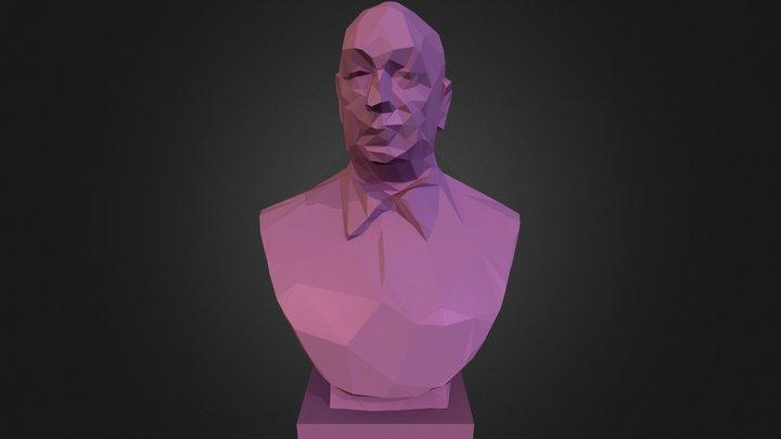 Neruda Lowpoly2 3D Model