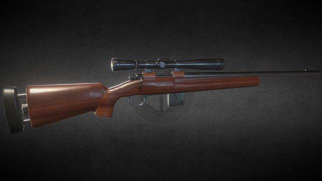 Hunting Rifle 3D Model